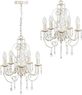 : bougie chandelier Blanc