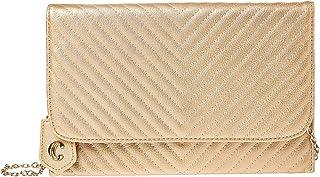 شارمنج شارلي حقيبة للنساء-ذهبي - حقائب طويلة تمر بالجسم
