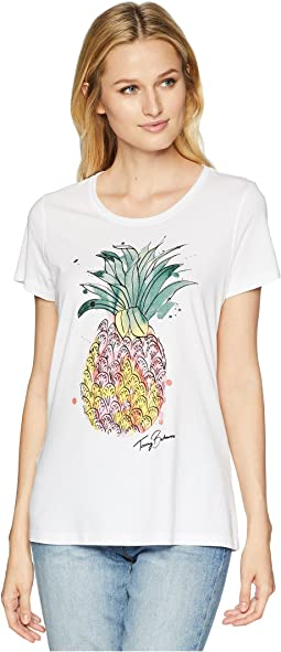 Watercolor Pineapple Tee