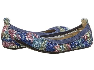 Yosi Samra Kids Limited Edition Miss Samara (Toddler/Little Kid/Big Kid) (Unicorn Chunky Glitter) Girls Shoes