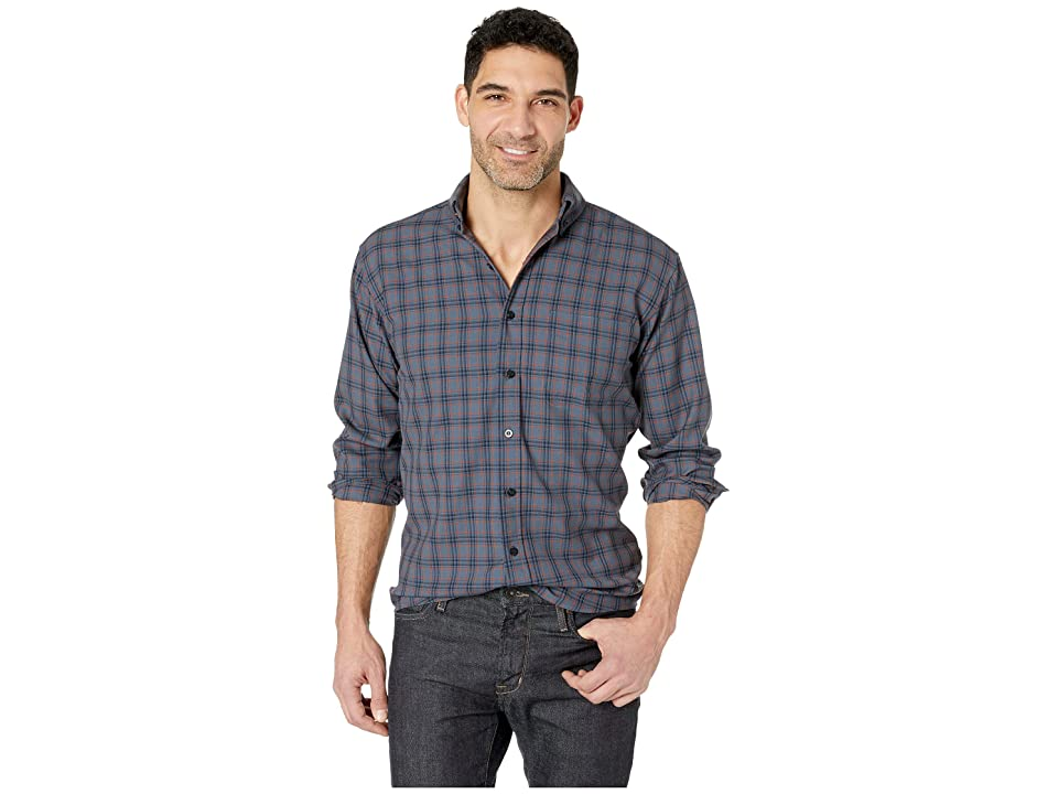 Pendleton Sir Pendleton Button Down Shirt (Blue Plaid) Men