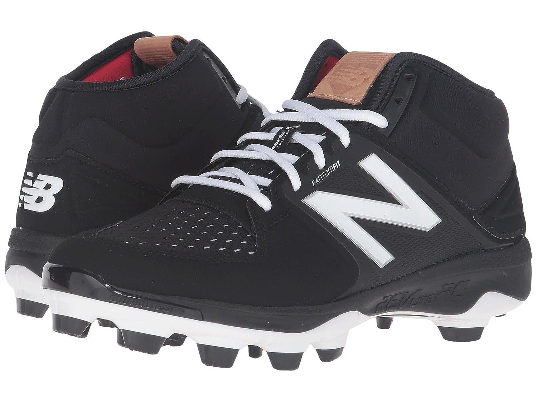 (ニューバランス) New Balance メンズ野球ベースボールシューズ?靴 PM3000v3 Black/Black 9 (27cm) D - Medium