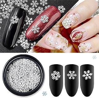 雪の結晶  冬ネイル 雪花 クリスマス  ネイルパーツネイルデコレーションジェルネイル ネイルアート