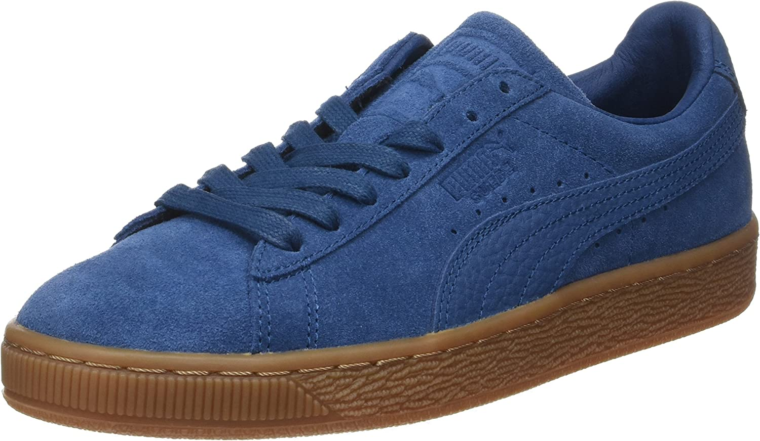 PUMA Unisex Adults' Suede Classic Natural Warmth Low-Top Sneakers, Grey, One Size Fits All