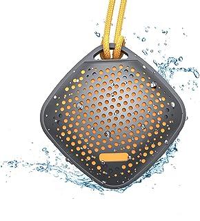 $24 » Sponsored Ad - Portable Mini Shower Speaker, LEZII IPX7 Waterproof Wireless Outdoor Speaker with HD Sound, Lanyard, Built-...