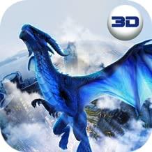 Giant Fantasy Reptile City Attack: Awaken Dragon Simulator Game