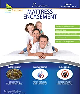 Bed Bug Mattress Cover Queen Size
