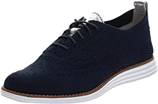 حذاء أوكسفورد من Cole Haan Women's ORIGINALGRAND Stitchlite Oxford، أزرق، 7. 5 B US