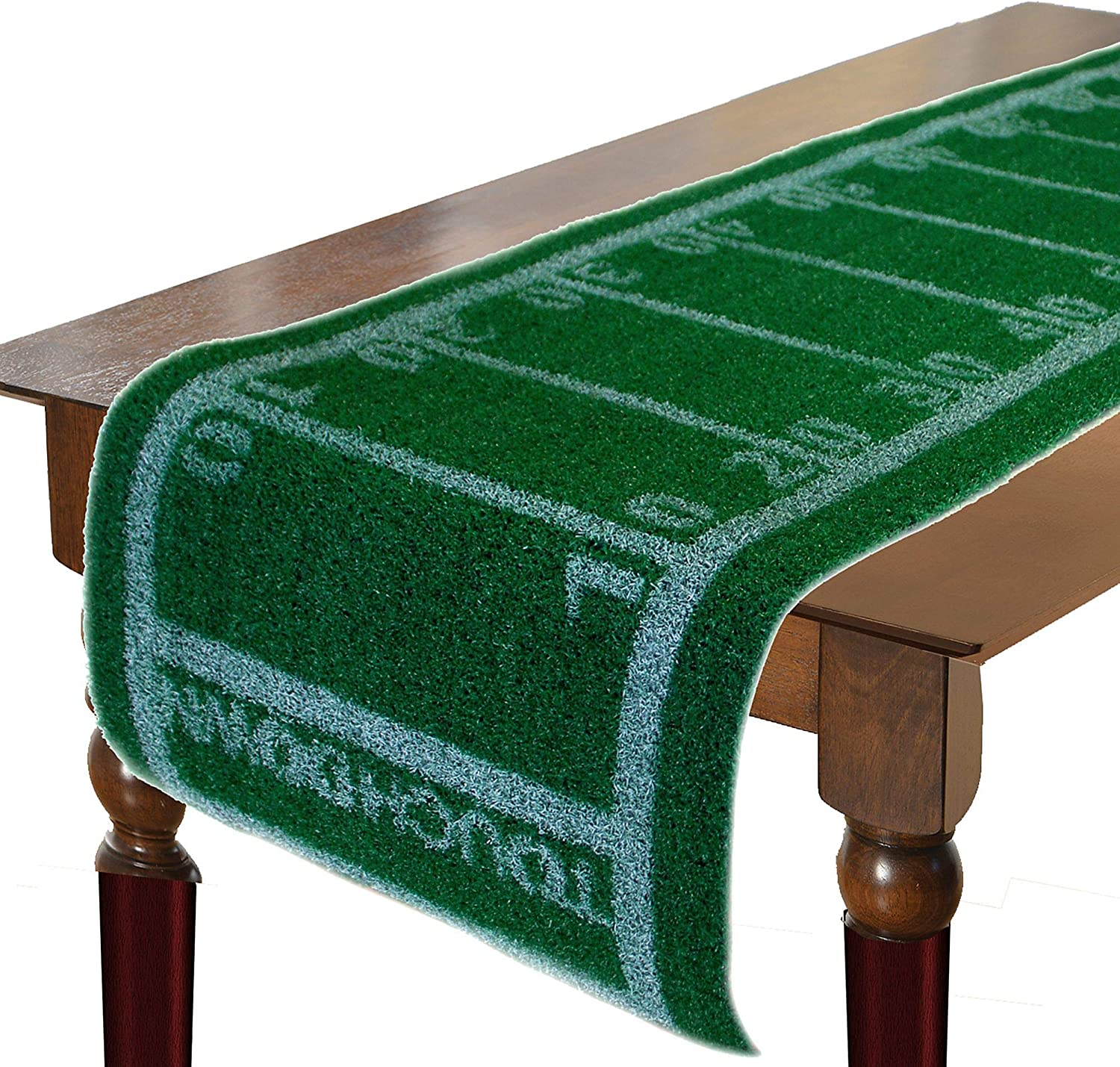 Football Brand new Turf Table Runner Tailgate Decoration OFFer for Party
