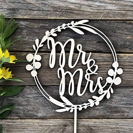 Mr and Mrs cake topper,Couple Topper,Letter Cake Topper,Love Cake Topper-027 Custom Wedding Topper,Acrylic Cake Topper With Your Last Name