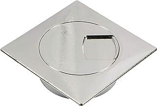 Gedotec H1010 Passe Cable  Passe Fils Design pour Bureau, Plan de Travail et Meuble d'Ordinateur Organisateur de Table Chr...