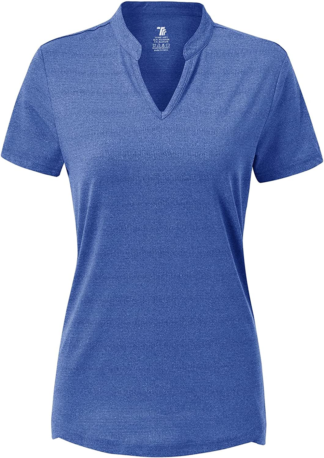 BGOWATU Special Campaign Women's Short Sleeve Golf V-Neck Super special price Polo Collar Shirts