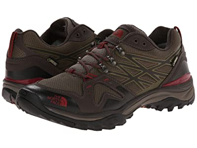 The North Face Hedgehog Fastpack GTX(r) (Coffee Brown/Rosewood Red) Men