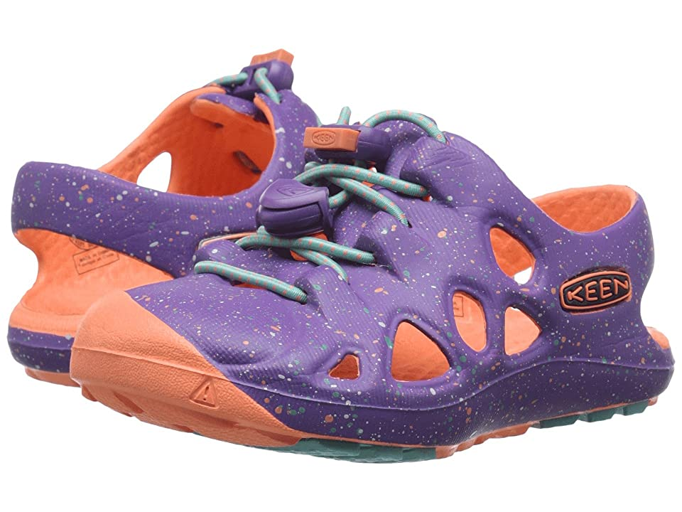 Keen Kids Rio (Toddler) (Purple Heart/Fusion Coral) Girls Shoes
