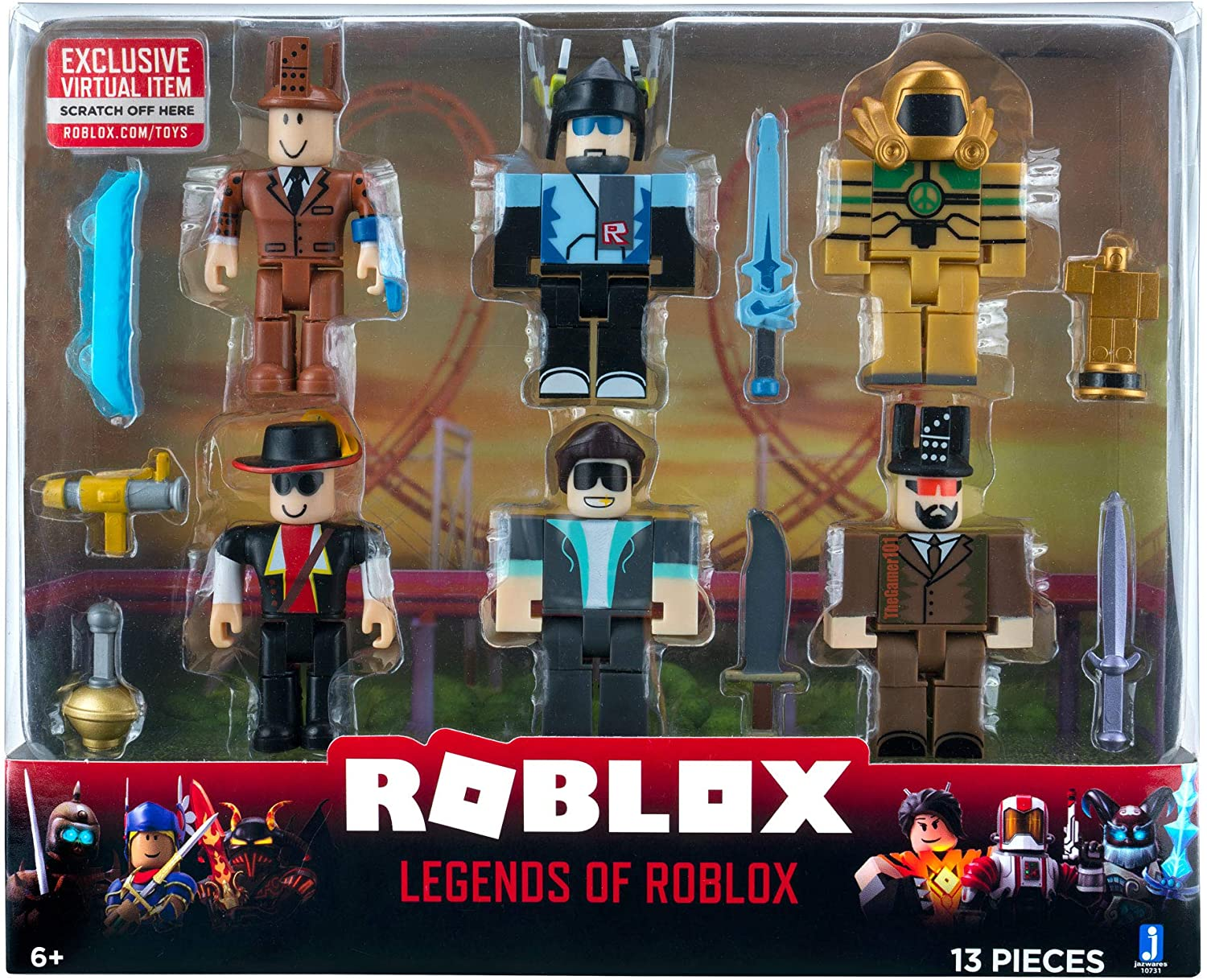 Roblox Action Collection - Legends of Six Figure