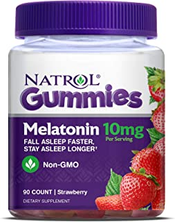 Natrol Melatonin 10mg Gummy, 90 Count