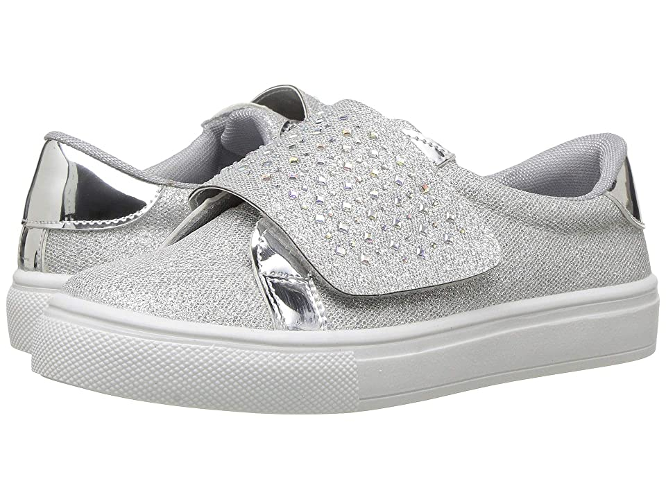 Kid Express Mylan (Toddler/Little Kid/Big Kid) (Silver Combo) Girls Shoes
