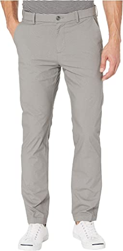 Slim Fit Stretch Texture Print Chino