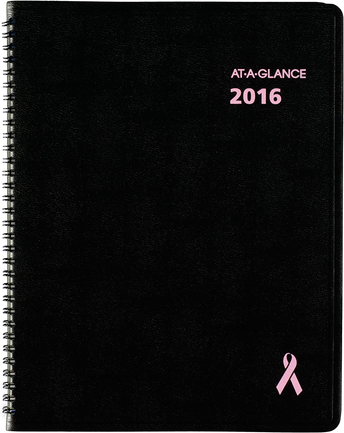 AT-A-GLANCE Monthly Planner 2016, 12 Months, Quick Notes Breast Cancer Awareness, 8.25 x 10.88 Inch Page Größe (76PN0605) by At-A-Glance B00WWVPNT8 | Elegant Und Würdevoll
