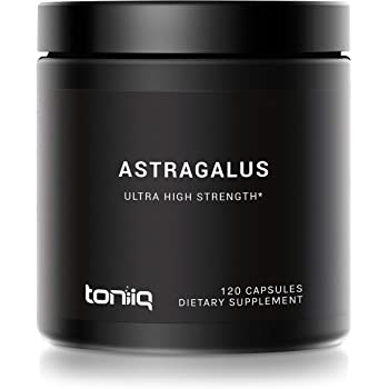 Ultra High Strength Astragalus Root Extract - 6,000mg 10x Concentrated Extract- High Polysaccharide Content - The Strongest Astragalus Supplement Available - 120 Astragalus Capsules
