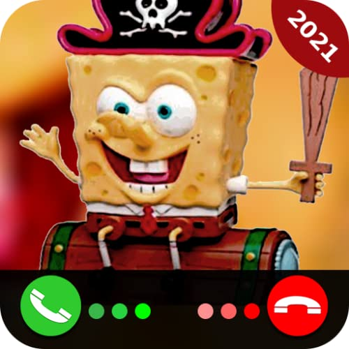 Talking With Sponge Fake Call Free Text Free Video Call Simulator