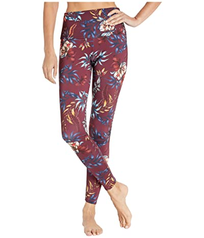 Onzie High Rise Leggings (Majestic Floral) Women