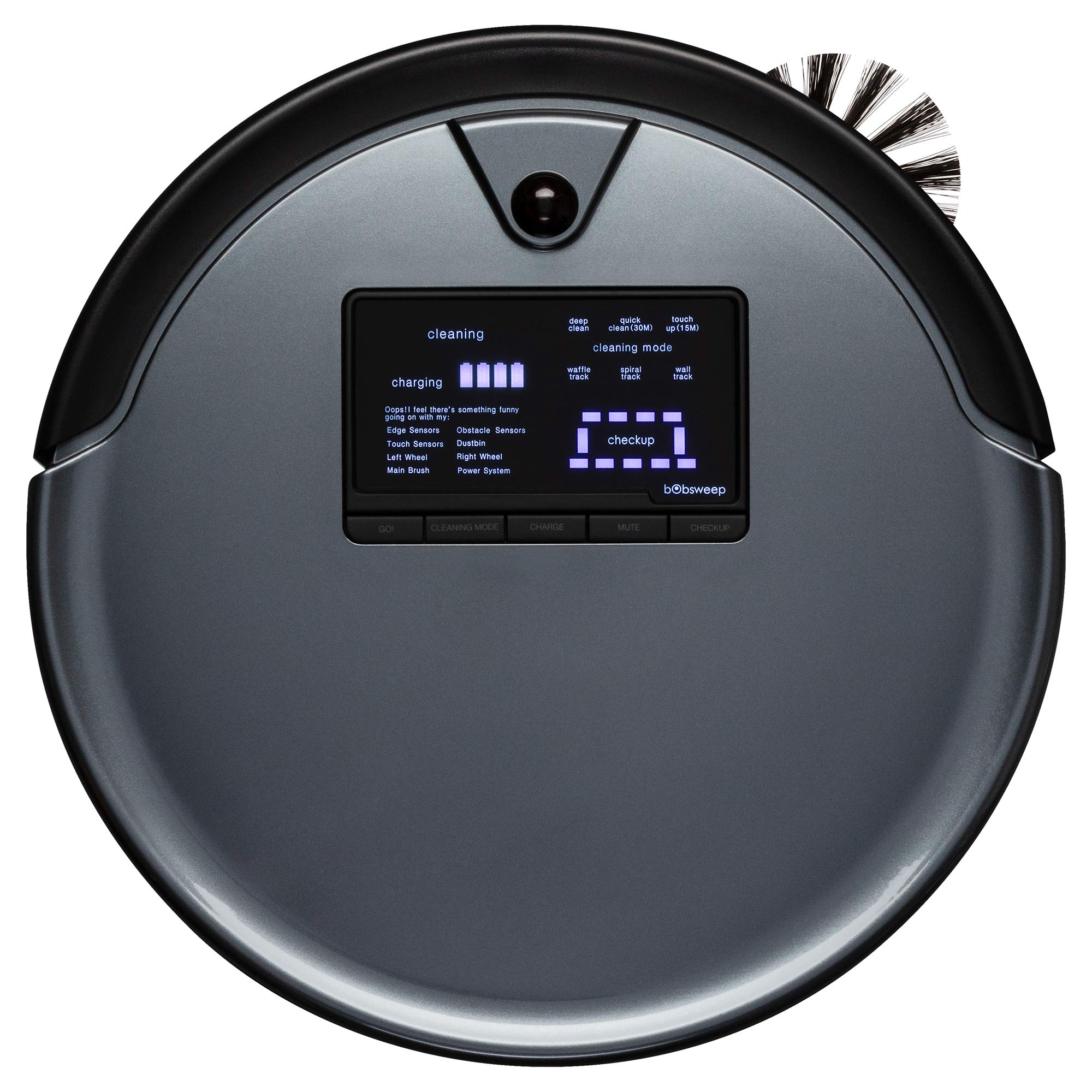 bObsweep PetHair Robotic Cleaner Charcoal