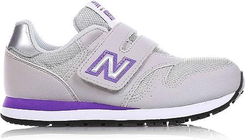 NEW BALANCE - Chaussure de sport gris, en nubuck et synthétique ...