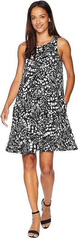 Abstract Print Chloe Dress
