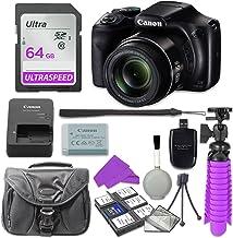 Canon PowerShot SX540 - Cámara digital con tarjeta de memoria SD de 64 GB y paquete de accesorios