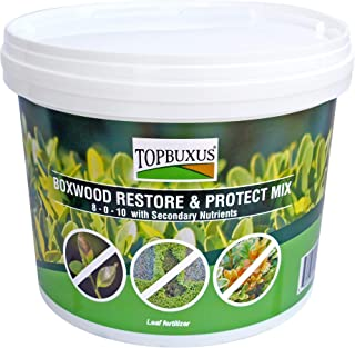 TOPBUXUS Boxwood Restore & Protect Mix (aka Health Mix) - Restore and Protect Your Boxwood Against Boxwood Blight - 100 Tablets for 10,000ft2 Boxwood