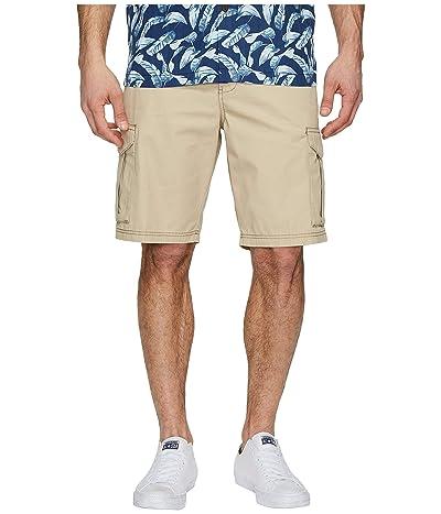 Tommy Bahama Island Survivalist Cargo Shorts (Stone Khaki) Men