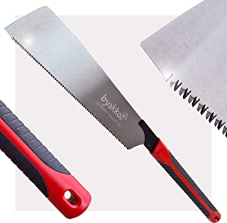 Byakko Tools Japanese Saw, 15 TPI, 265mm, Japanese Pull Saw with Triple Bevelled Teeth | High Carbon Steel Blade Hand Saw ...