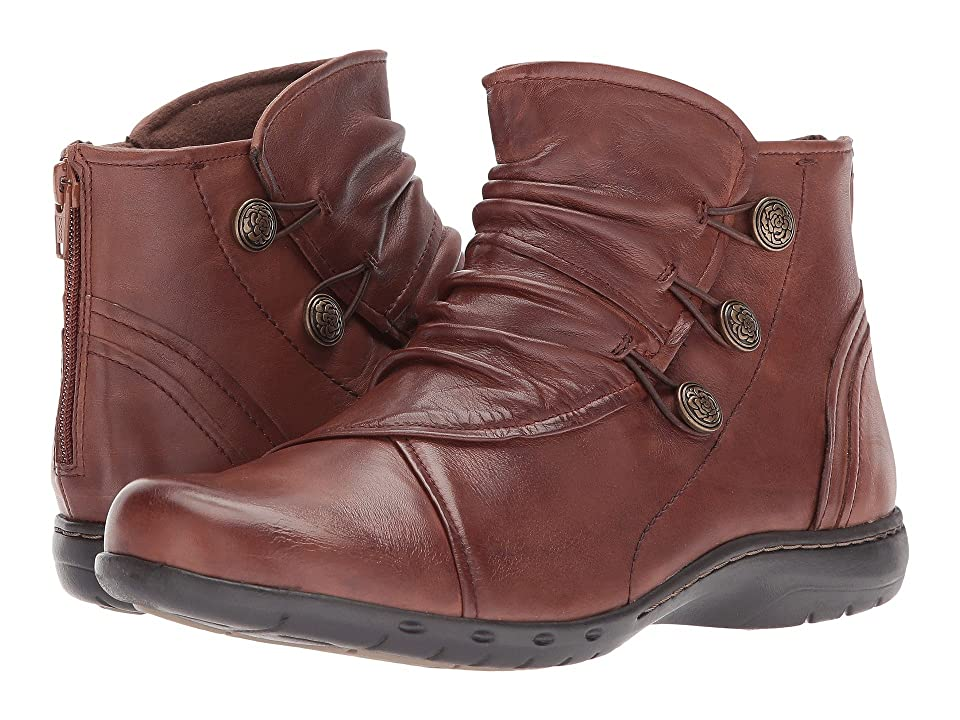Rockport Cobb Hill Collection Cobb Hill Penfield Boot (Almond Leather) Women