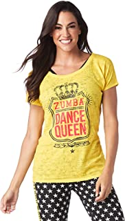 3df8243e Zumba Fitness Women's Team Pride Burnout Tee