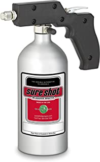Sure Shot - M2400 Silver Anodized Aluminum Sprayer with Adjustable Nozzle