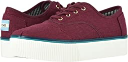 Burgundy Heritage Canvas Cupsole