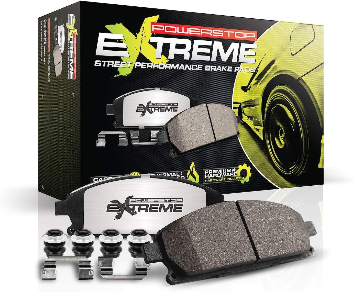 Power Max 42% OFF Kansas City Mall Stop Z26-627 Extreme Performance New Pad Formulation Brake