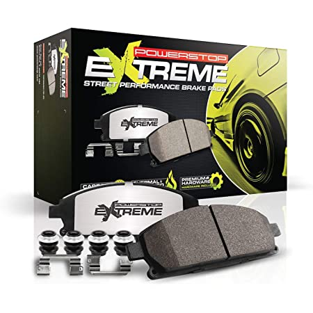 Power Stop Rear Z23-374 Z23 Evolution Sport Brake Pads