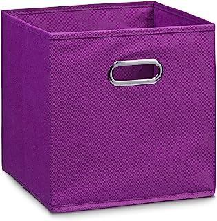 Zeller 14115 - Caja de almacenaje de tela, plegable, 32 x 32