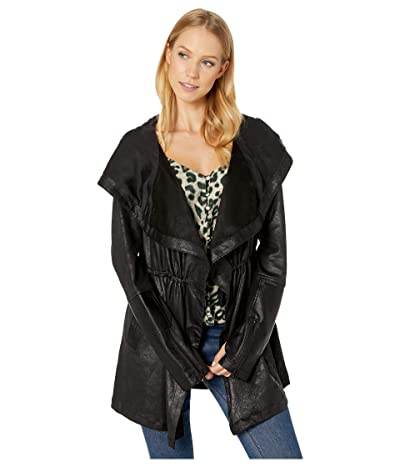 Blanc Noir Vintage Traveler Jacket (Black) Women