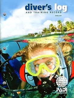 PADI Diver's Blue Log and Training Record (70047) Rev. 3.0