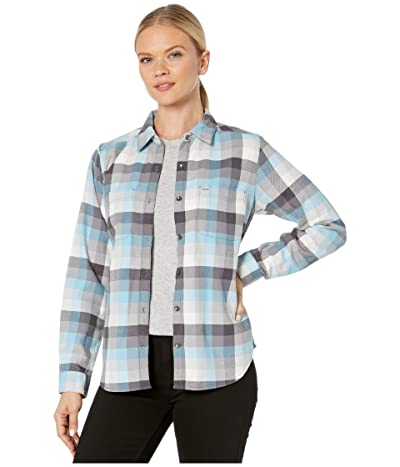 Royal Robbins Lieback Flannel Long Sleeve (Quiet Shade) Women