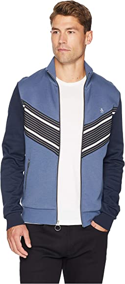 Long Sleeve Stripe Track Jacket