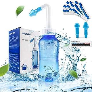Sponsored Ad - Neti-Pot,Neti Pot Sinus Rinse Nasal Wash Bottle Sinus Rinse Bottle Allergy Cleaner Pressure Irrigation Neti...