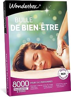 Wonderbox – Coffret cadeau - BULLE DE BIEN ETRE – 8000 massages californiens, soins du visage, modelage thaïlandais, gomma...