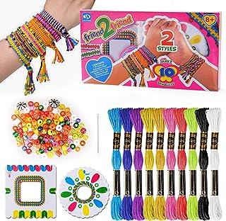 Oligo Kit de Bricolage pour Enfants pour La Conception Et La Fabrication de Bracelet d'Amitié - pour Le Cadeau du Meilleur...
