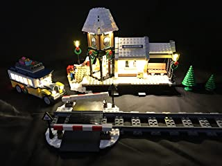 brickled LED Light Kit for Lego 10259 Winter Village...