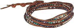 Sapphire Mix Five-Wrap Bracelet