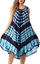 Riviera Sun Tie Dye Summer Dress - Beach Cover Up
